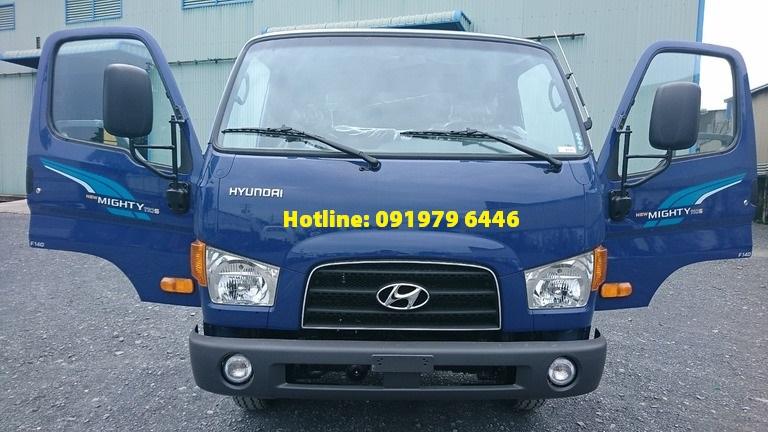 Hyundai 110s thùng bạt, 7t giao ngay giá rẻ