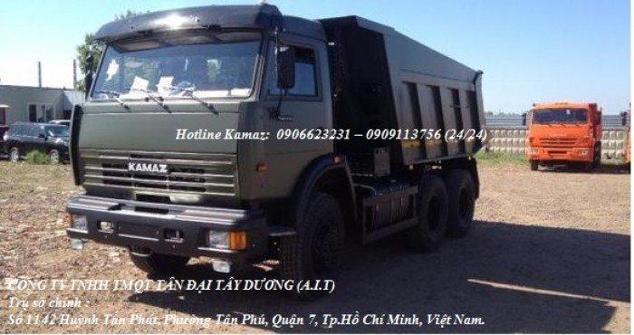 Xe ben 65115 (6x4) thùng vát 10m3 | Kamaz ben 15 tấn | #kamaz65115 #kamaz15tan    #kamaz2016