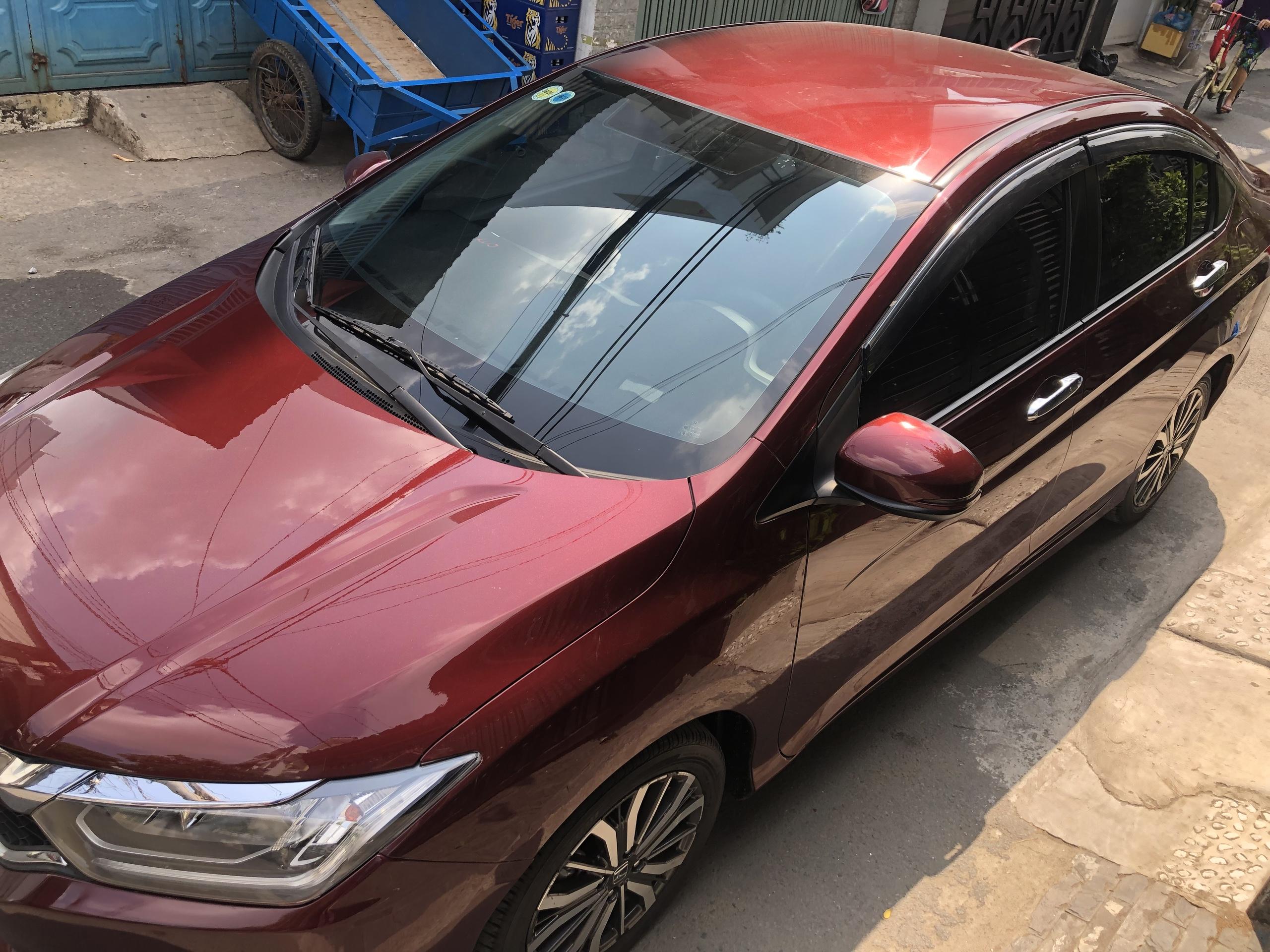 Cần bán xe Honda City 2018 số tự động màu đỏ