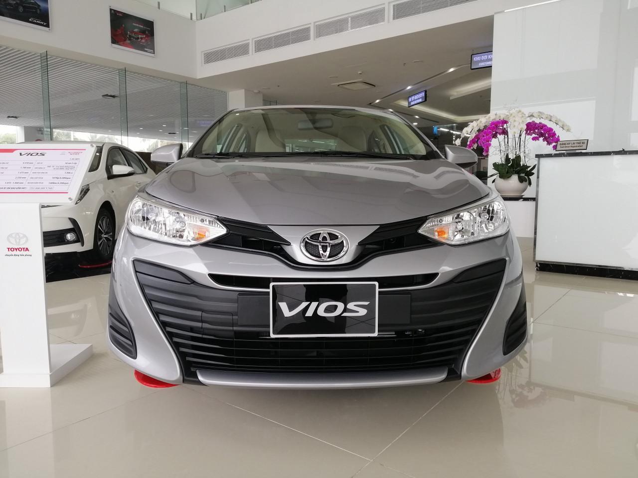 Bán Toyota Vios E Số Sàn Năm 2019 Mới 100%. Hỗ Trợ Trả Góp