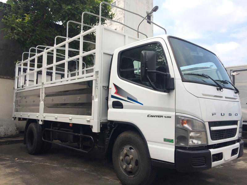 xe tải thaco mitsubishi fuso canter 4.99 - tải trọng 2.1 tấn - thùng dài 4.3m