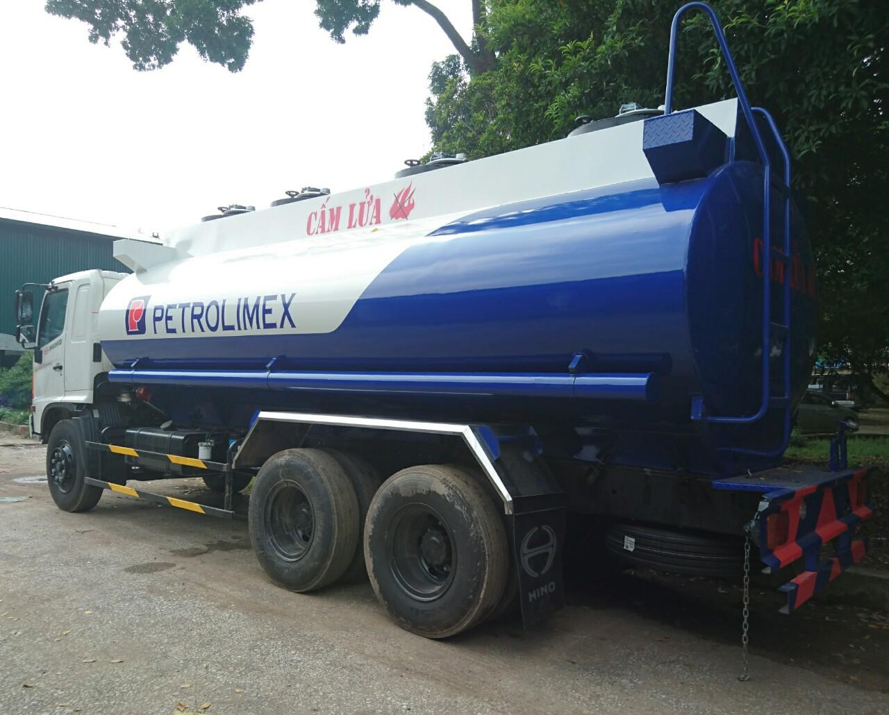 Bán xe Téc Xăng Dầu Hino Fm 18 khối