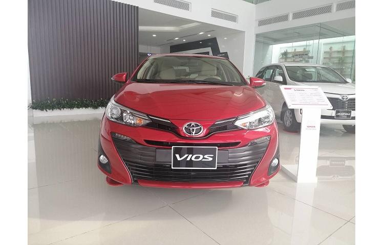 Bán Xe Toyota Vios G Số Tự Động, Sản xuất 2019 Mới 100%| Hỗ Trợ Trả Góp