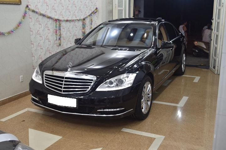 Cần bán S400 HYBRID xăng điện, sản xuất 2011, số tự động, màu đen