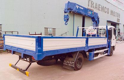 Xe tải 7 tấn HINO FC9JLSW gắn cẩu 5 tấn 5 đốt TADANO TM-ZT505 thùng dài 6m | Hỗ trợ mua trả góp 90% giá trị xe