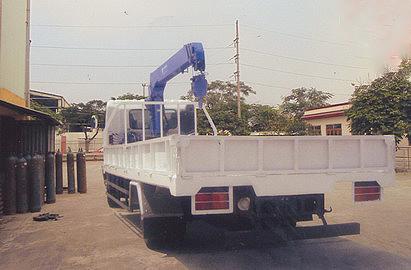 Xe tải 7 tấn HINO FC9JLSW gắn cẩu 3 tấn 4 đốt TADANO model TM_ZE304MH thùng dài 6m | Hỗ mua trả góp 90%