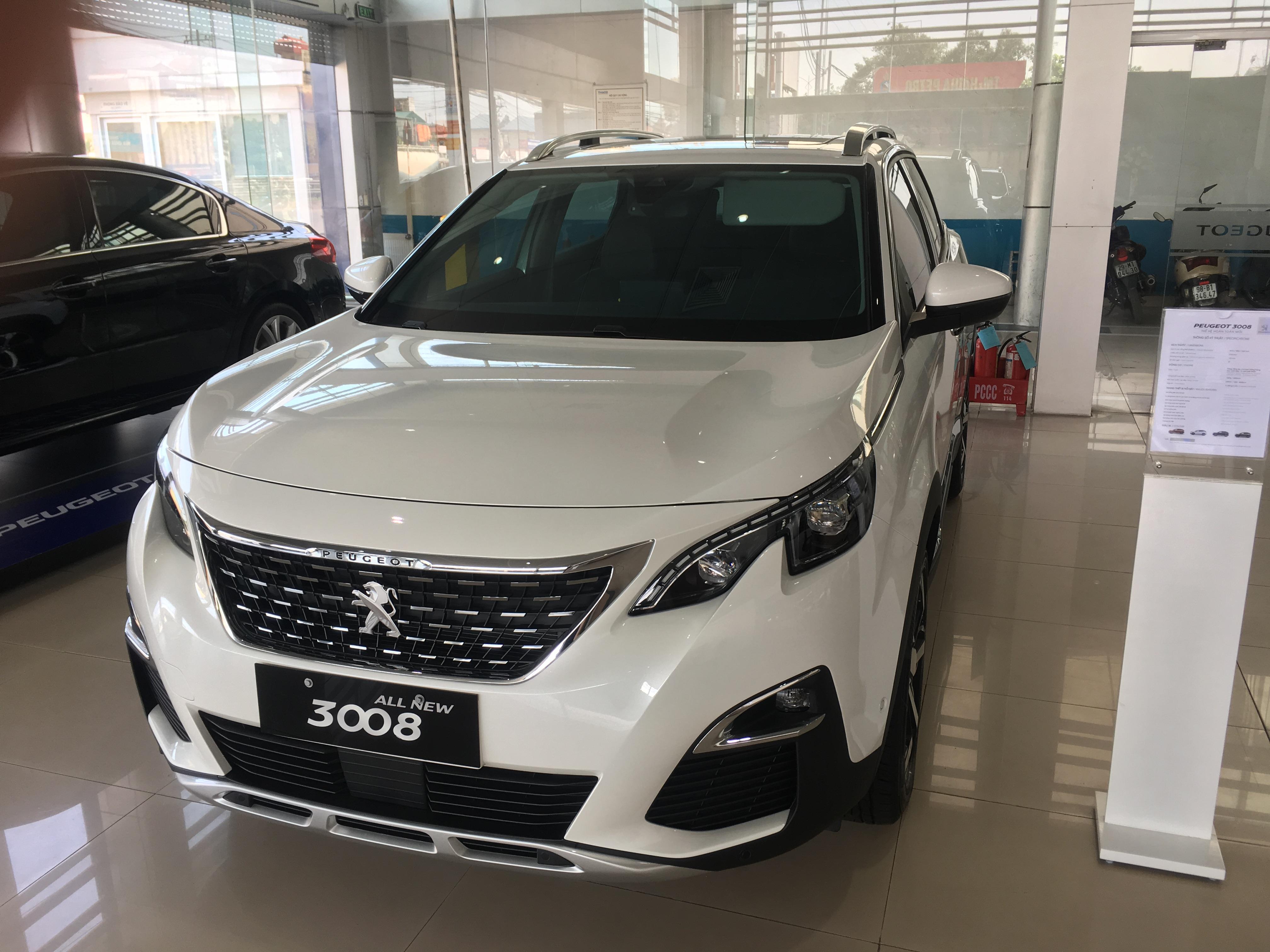 Xe Peugeot 3008 giá tốt, hỗ trợ trả góp