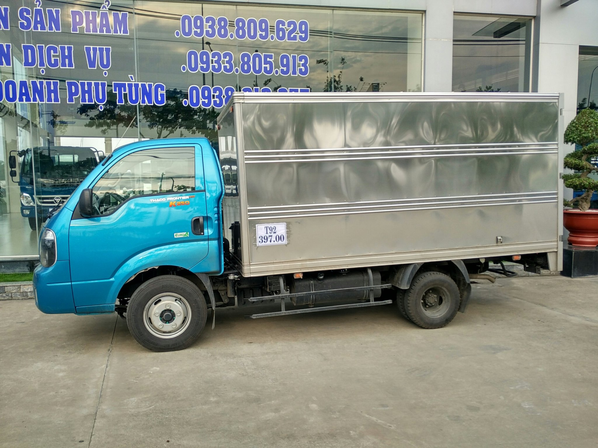 Bán xe KIA THACO NEW FRONTIER K250 - 2tấn490