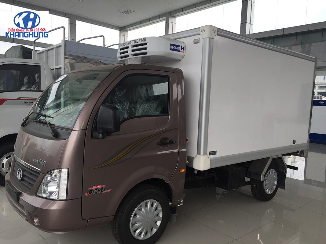 Xe Tata Daewoo Thùng Đông Lạnh - Giá Chỉ 410Tr