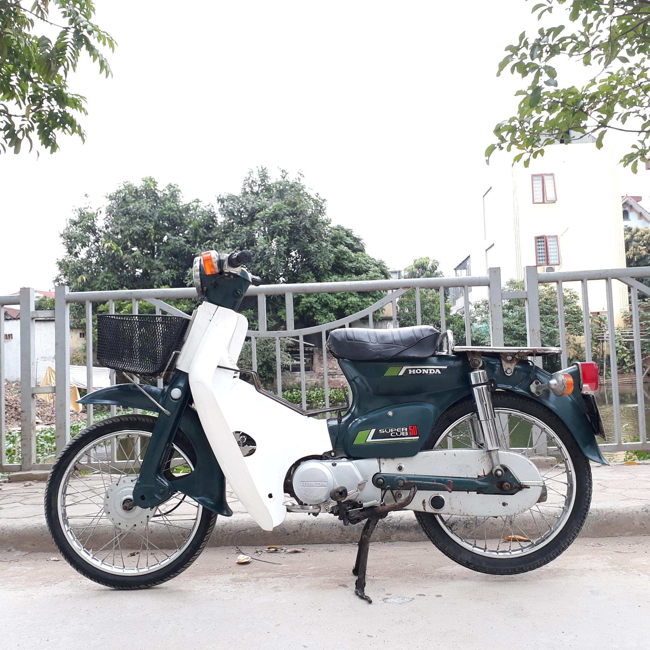 Cub 81 hơi 50 nguyên bản máy honda nhật biển Hà Nội 29