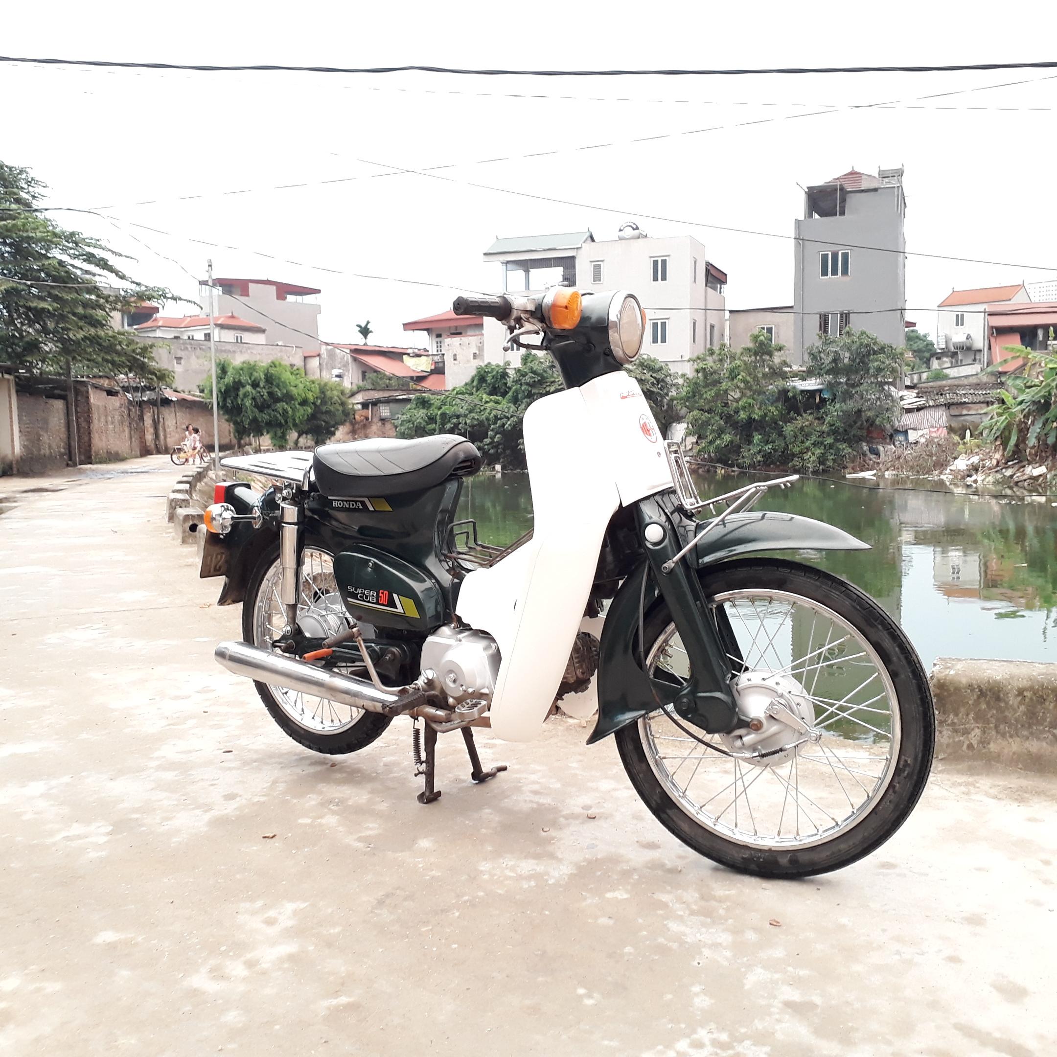 Cub 81 50cc Honda Nhật nguyên bản biển Hà Nội 29