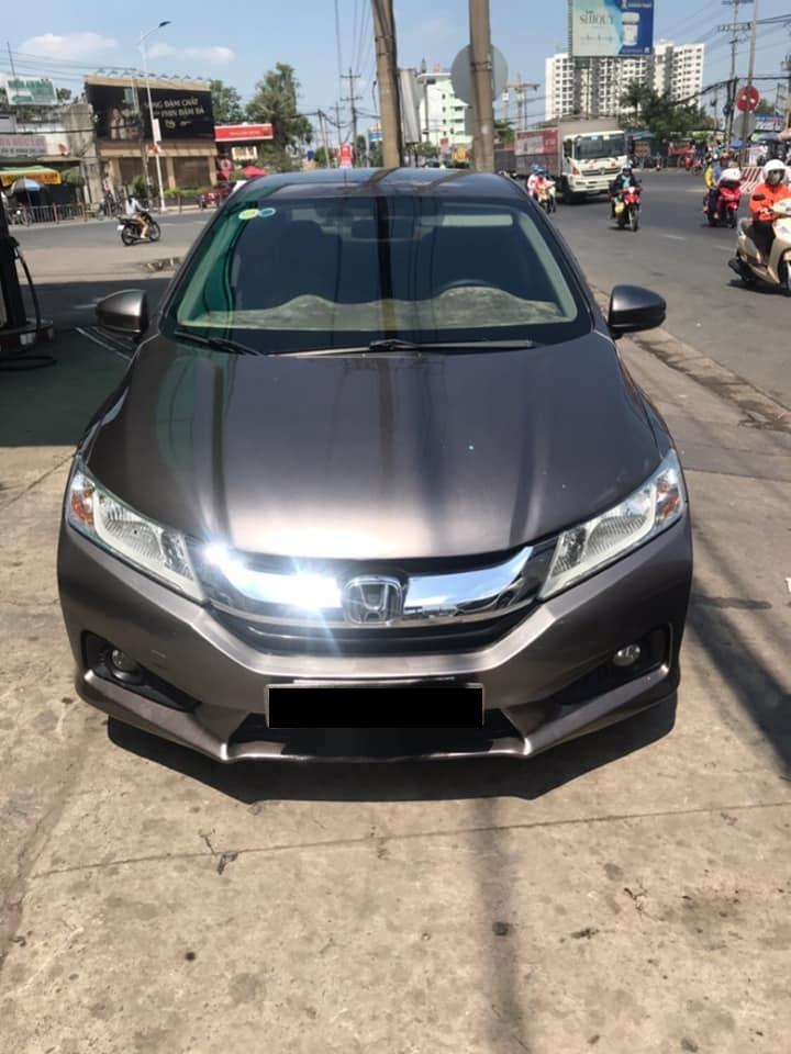 Cần bán xe Honda City đời 2015 số tự động màu xám