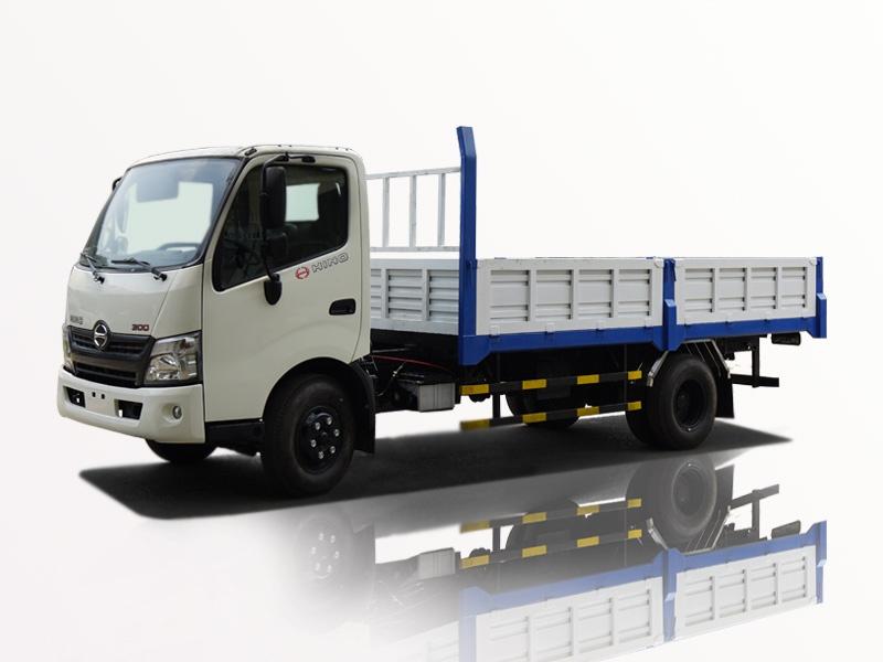 xe tải hino 5 tấn thùng lững lướt gió