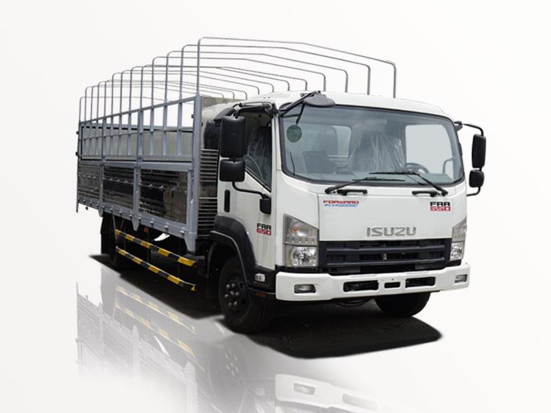 xe tải isuzu 6t5 thùng mui bạt lướt gió 0