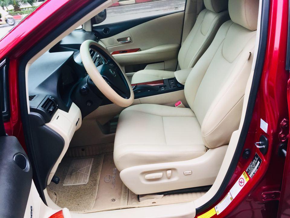 Lexus RX350, sản xuất 2009, đăng ký 2009. Động cơ V6 3.5L