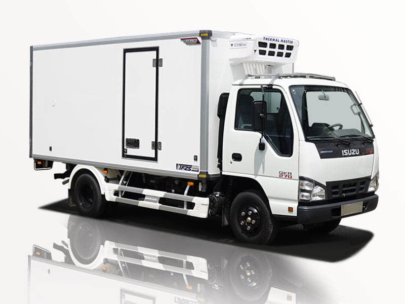 xe tải isuzu 1t9 thùng đông lạnh giá hot