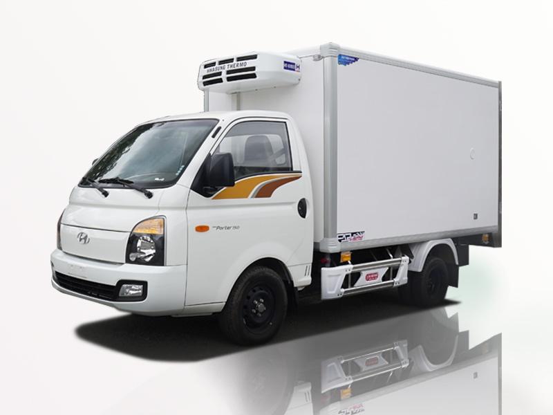 xe tải huyndai 1 tấn thùng đông lạnh giá êm đềm.