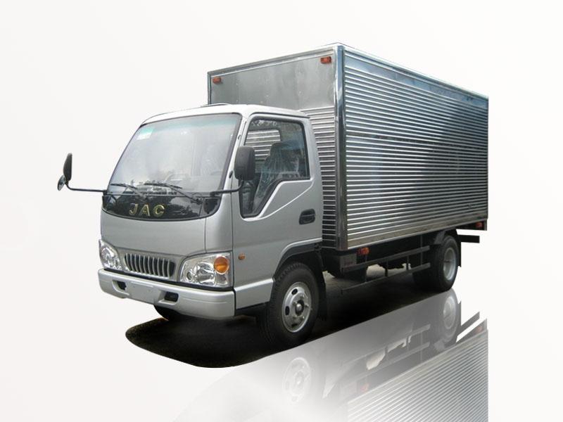 Xe tải jac 1t25 thùng kín giá cực rẽ