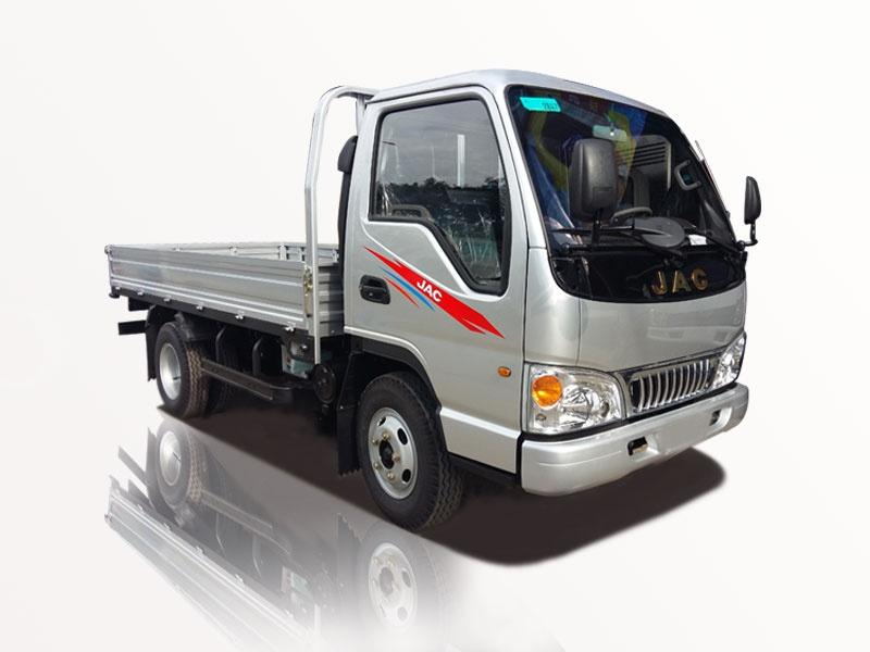 xe tải jac 1t25 thùng lững giá rẽ