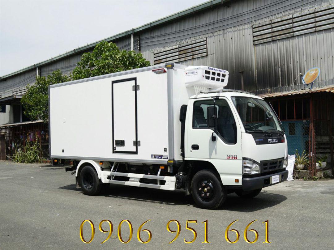 Giá xe tải Isuzu thùng Đông Lạnh 1.9 tấn, hỗ trợ vay không cần chứng minh thu nhập