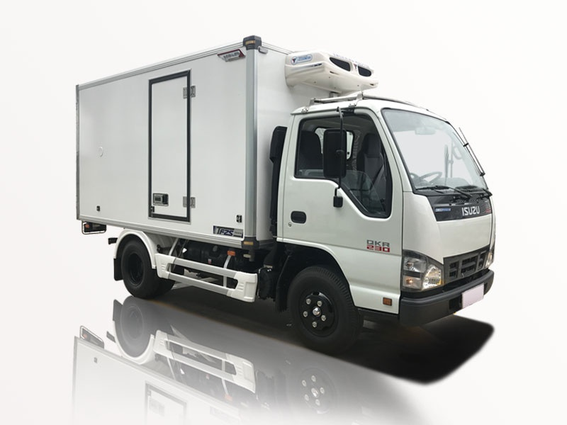 xe tải isuzu 1t9 thùng đông lạnh qkr 270