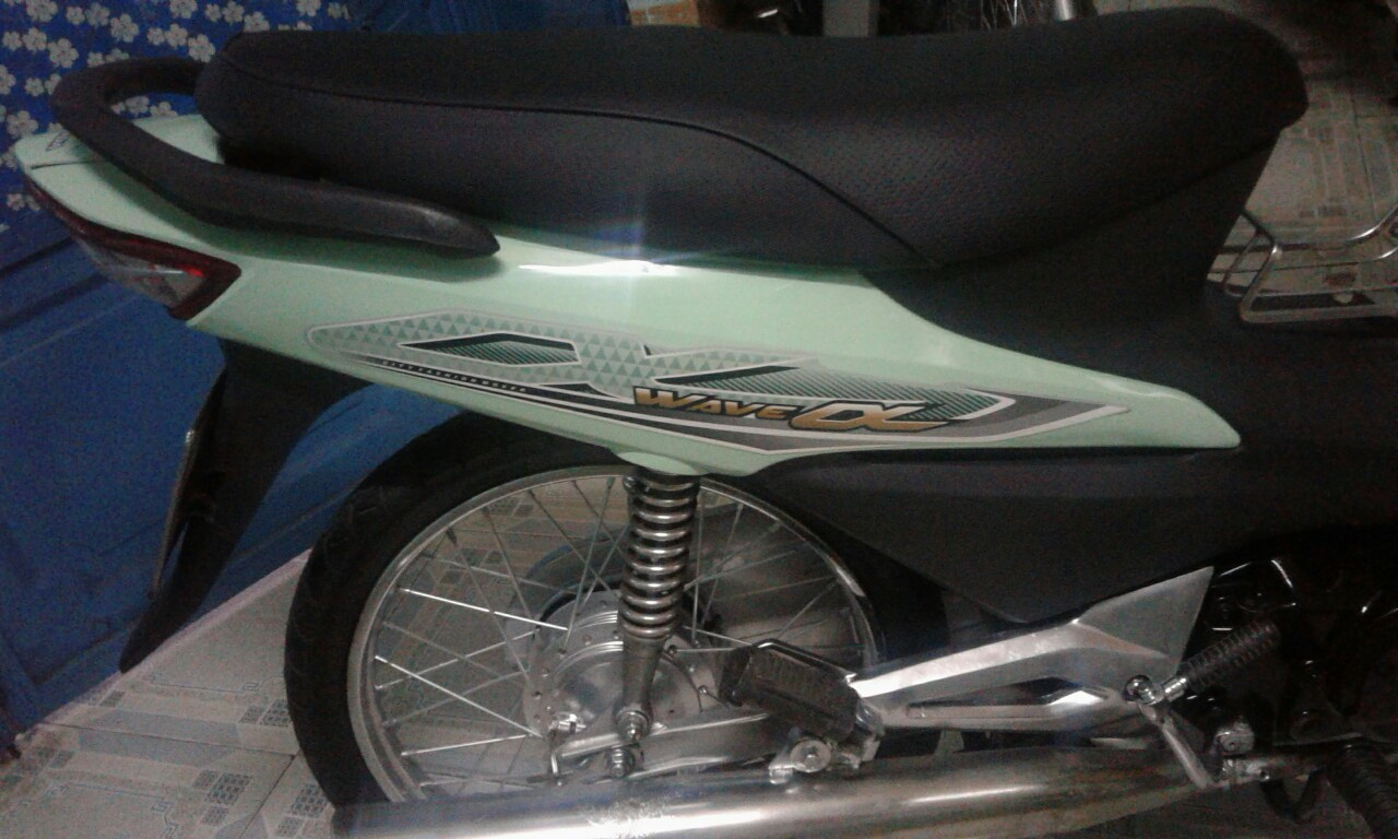 Bán xe Wave A 110 màu xanh HQ LD Honda