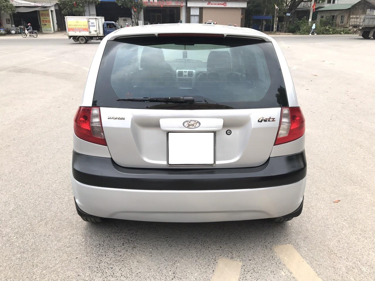 Hyundai Getz 1.1 MT năm sản xuất 2009, màu bạc, nhập khẩu. Xe Tuyển K Lỗi