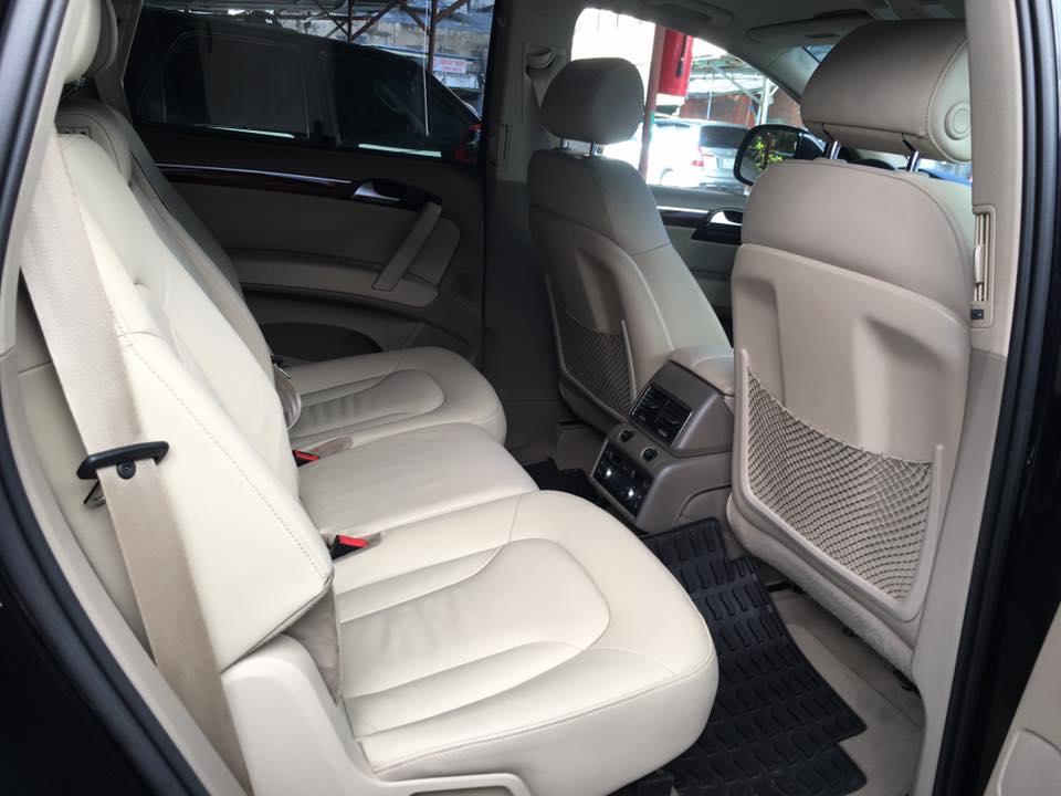Mình cần bán chiếc AUDI Q7 model 2008 màu đen bản full option nhập khẩu Đức