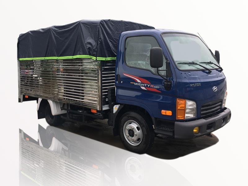 Xe tải Hyundai 2t3 thùng bạt N250 mạnh mẽ và quý phái