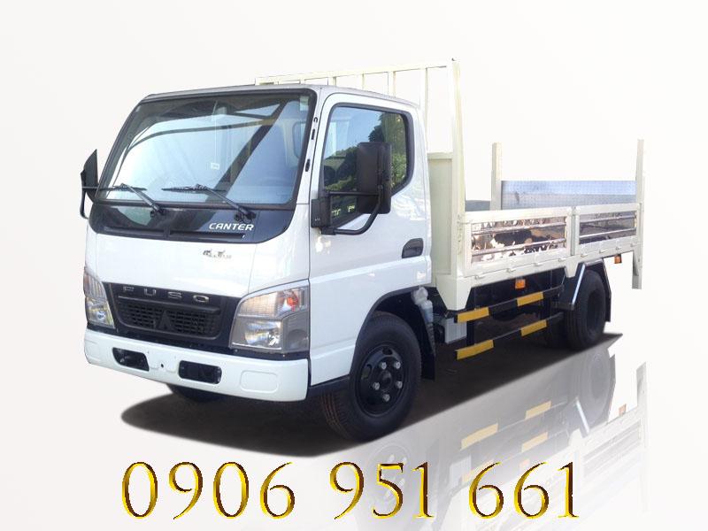 Bán xe tải Fuso Canter 6.5 Wide 2.5 tấn , Hỗ trợ vay cao, bỏ ít vốn