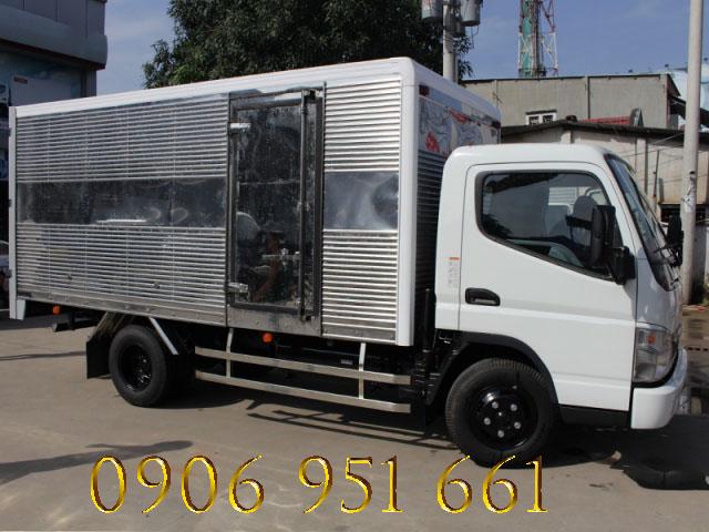 Mitsubishi Fuso 3.5 tấn Canter 6.5 tại tp.hcm, Hỗ trợ mua xe trả góp
