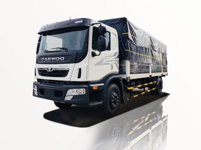 Xe tải daewoo 9 tấn thùng bạt có sẵn giao ngay
