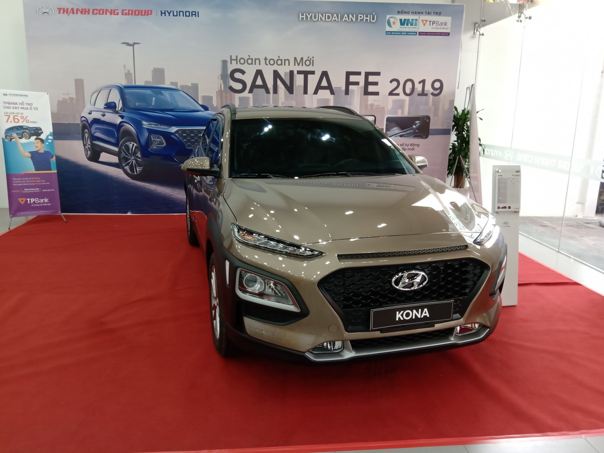 Hyundai Kona 2.0 tiêu chuẩn giá tốt, Hyundai An Phú, Hyundai Kona, Kona 2019, Xe Hyundai