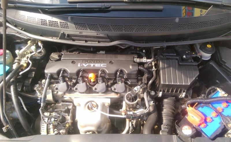 Gia đình cần bán xe Honda Civic đời 2008 bản 1.8L số tự động màu đen