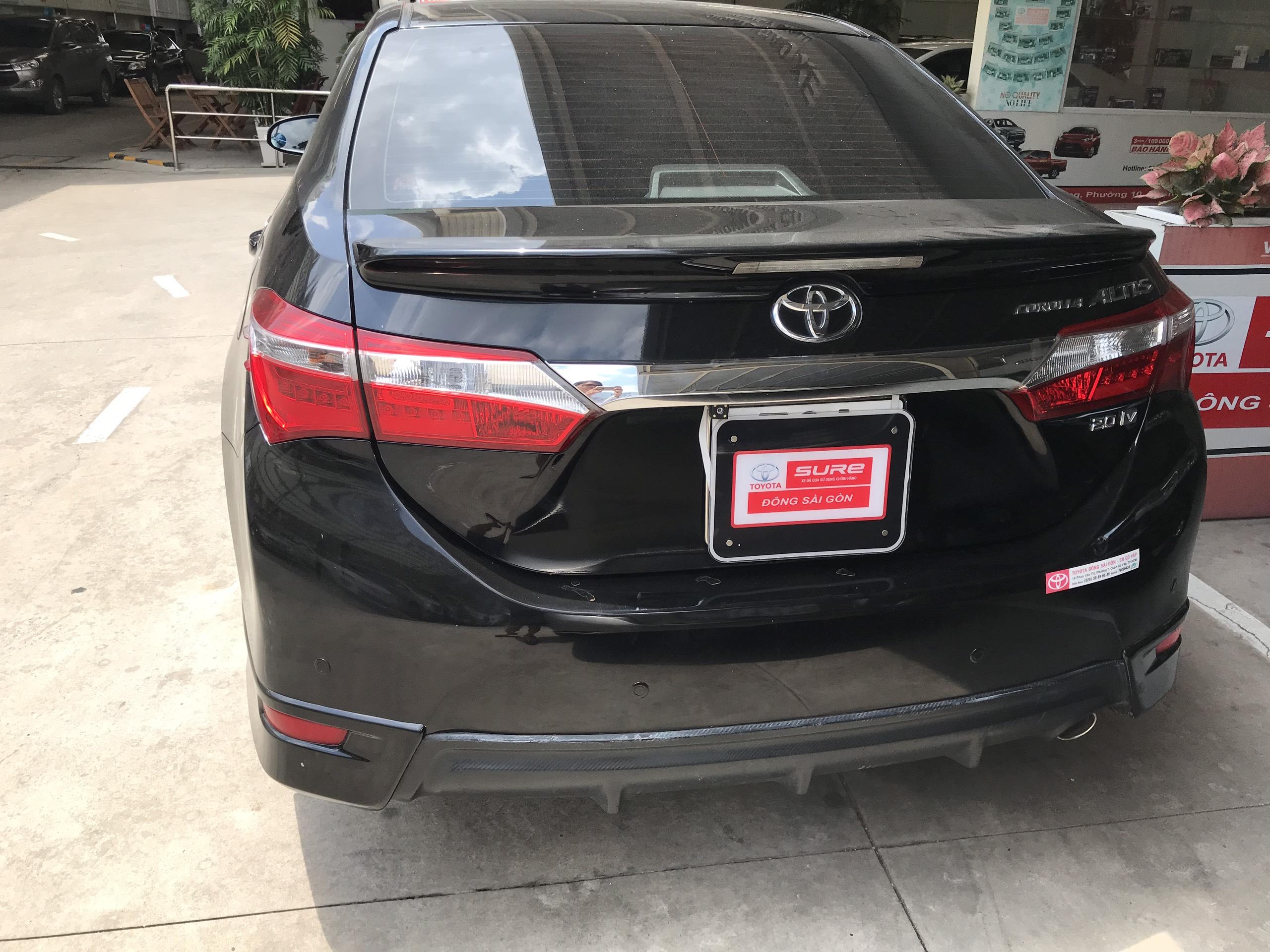 Bán xe Altis 2.0V đời 2016, màu đen  Odo 38370km , xe đẹp sang chảnh, có hỗ tợ trả góp , đặc gạch nhanh ạ