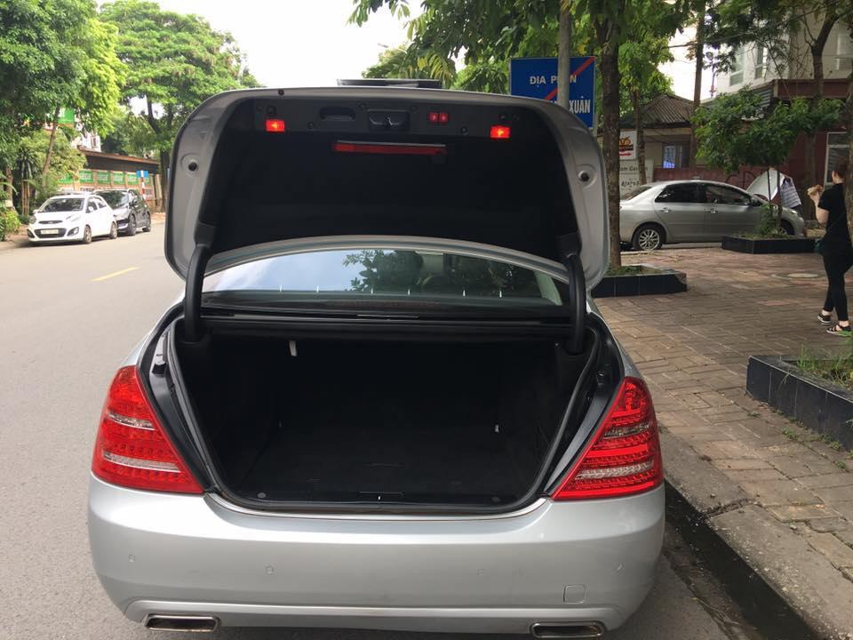 Bán Xe Mercedes S400 hybrid  Bạc 2012 at Full option nhập khẩu