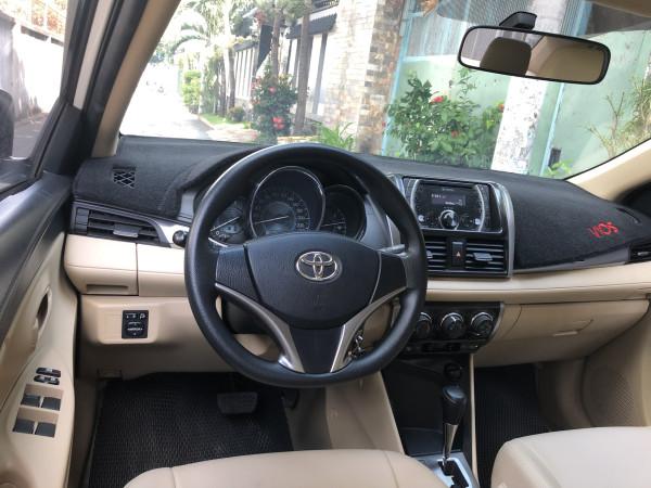 bán Toyota Vios 2018 số tự động màu trắng biển tp