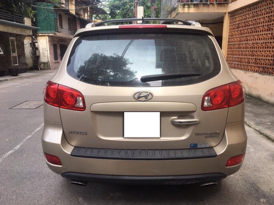 Cần bán xe Hyundai Santafe 2009 số sàn máy xăng nhập khẩu Hàn Quốc