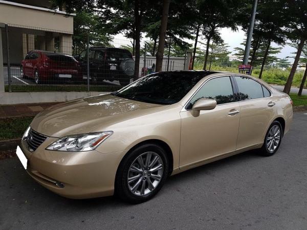 Cần bán xe Lexus es350 2008 màu vàng cát nhập Mỹ