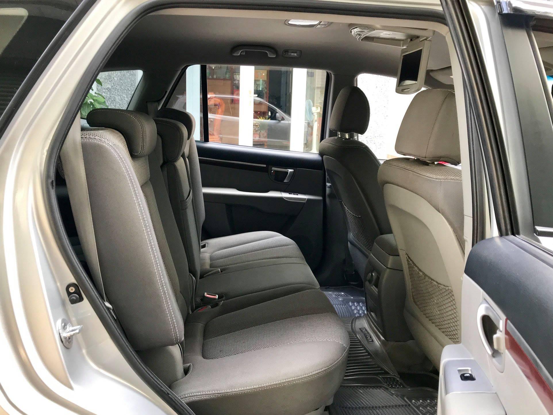 bán xe Hyundai Santafe 2009 số sàn màu bạ