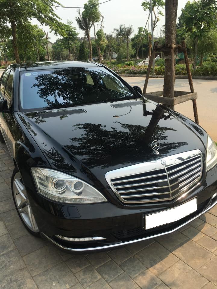 Gia đình cần bán S400 hibrid, sản xuất 2012, số tự động, màu đen,