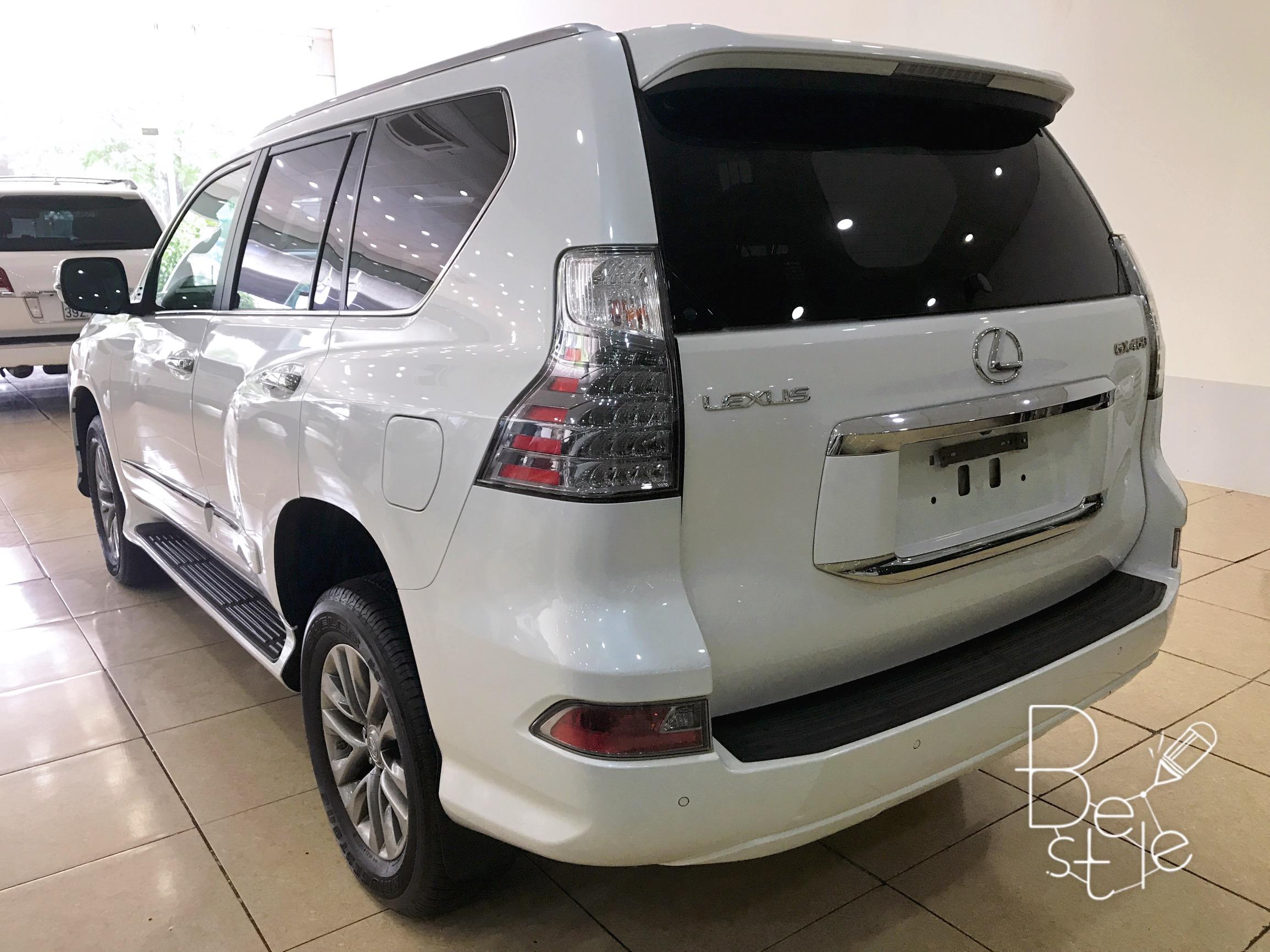 Bán Lexus GX460 màu trắng, sản xuất và đăng ký 2017. 5