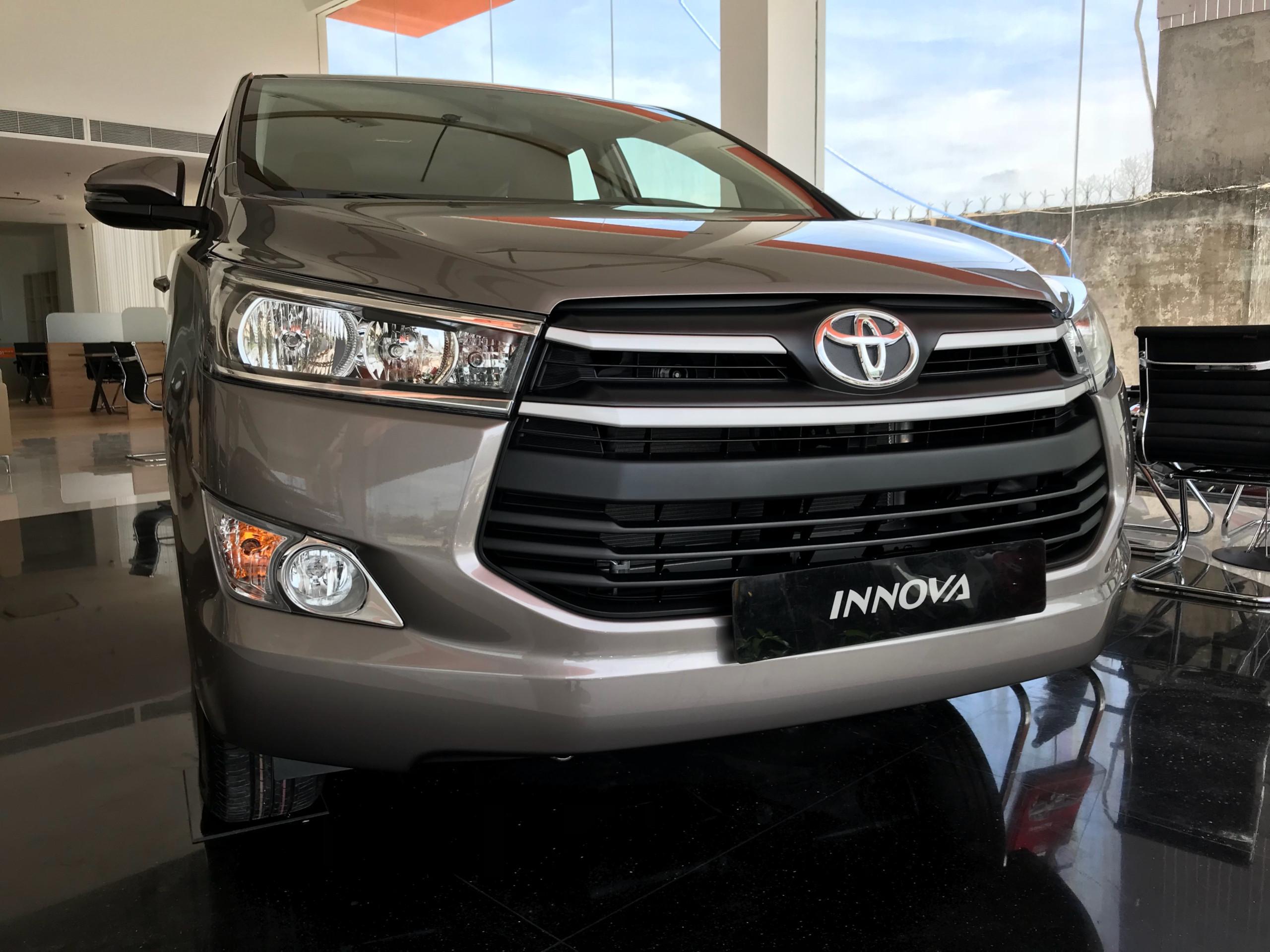 Toyota An Thành Fukushima khuyến mãi tốt khi mua xe Innova 2019, hỗ trợ trả góp, nhận xe ngay trong tuần.