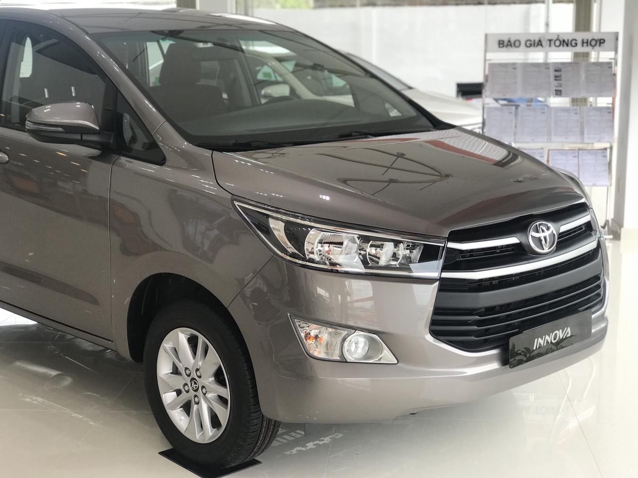 Toyota An Thành Bình Chánh Khuyến Mãi Toyota Innova 2019, Xe Có Sẳn, Đủ Màu, Giao Ngay