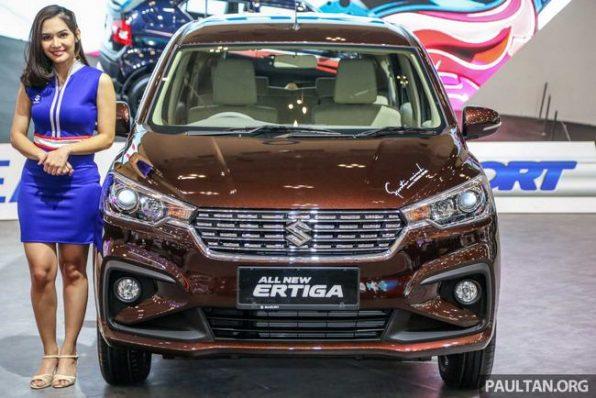 Suzuki Ertiga 2019 tại Kiên Giang