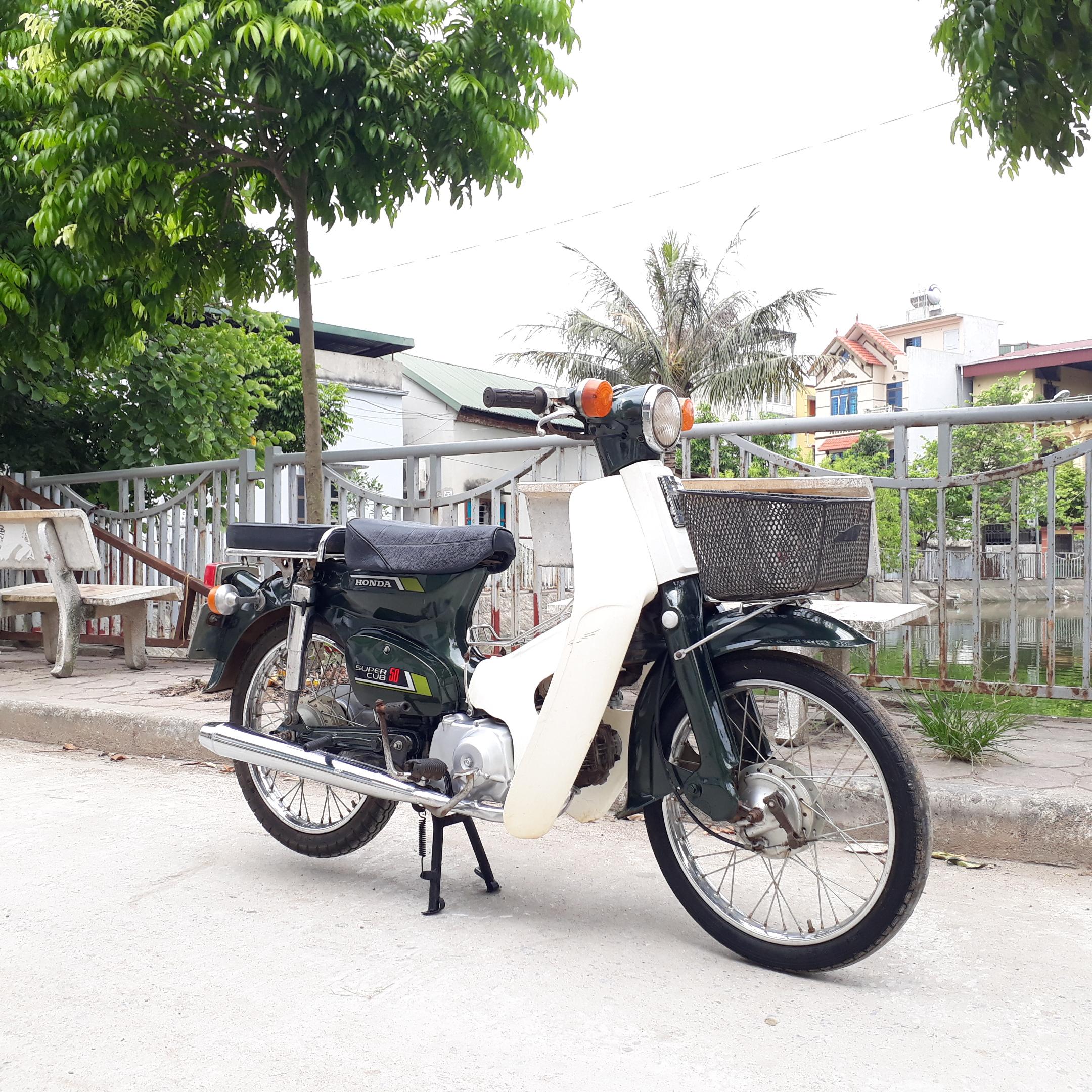 Cub 81 50cc Honda Nhật Bản biển số Hà Nội 29