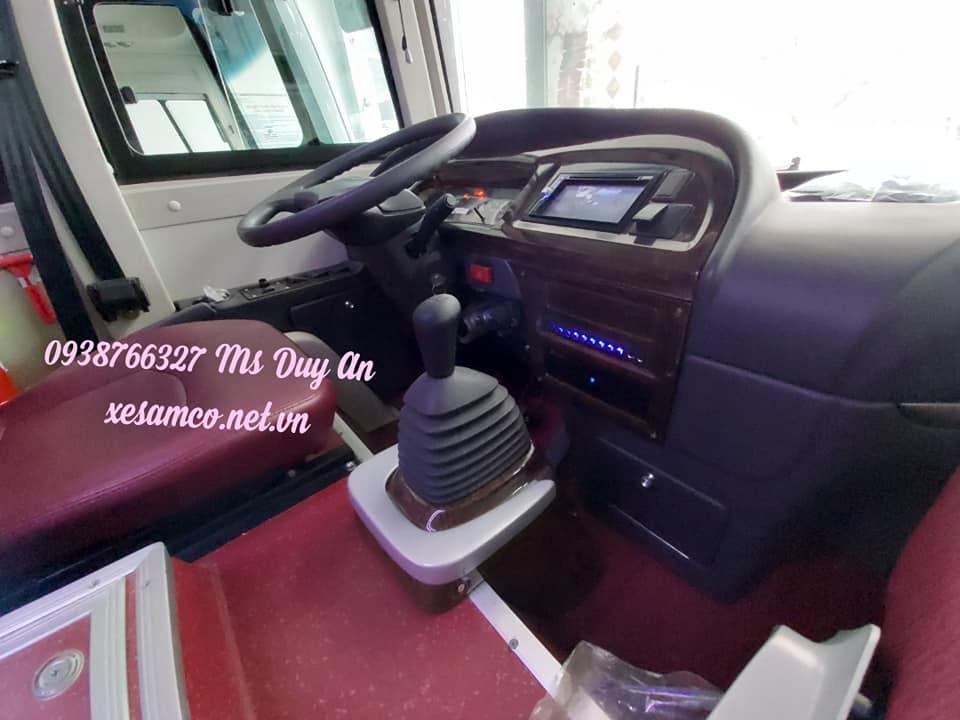 Bán xe khách Samco 29 chỗ ngồi - phiên bản mới nhất 2019
