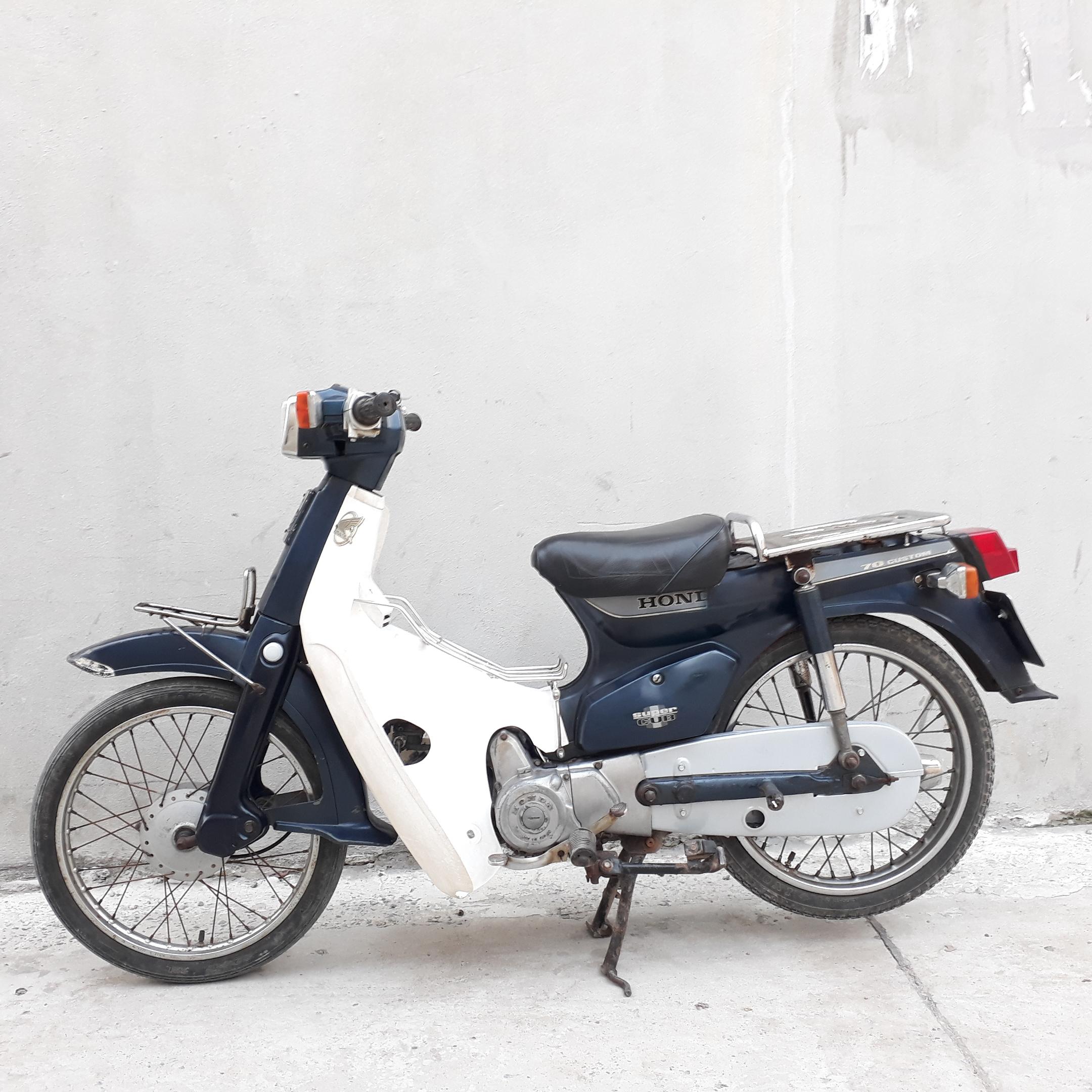 Cub 82 70cc Honda Nhật NGUYÊN BẢN biển Hà Nội 29