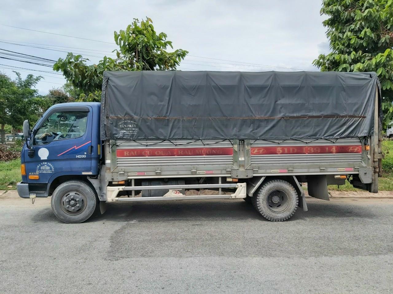 Bán Gấp Hyundai HD99 6.5 Tấn Mui Bạt Bửng Nâng Full Inox 304 Ga Cơ