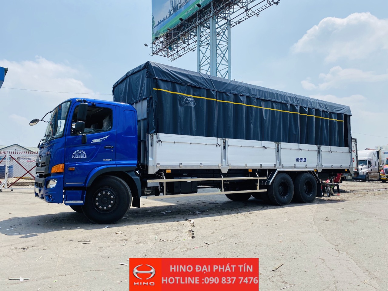 xe tải hino 15 tấn thùng nhôm